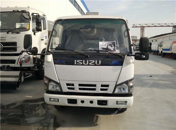 ISUZU 4×2 road sweeper truck