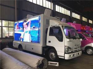 ISUZU mobile led advertising truck