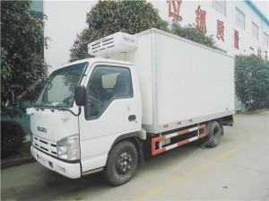 ISUZU refrigerator truck