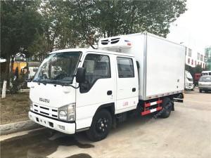 ISUZU thermo king refrigerator truck