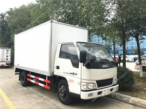 JAC 120HP 5tons Refrigerated Van freezer Truck