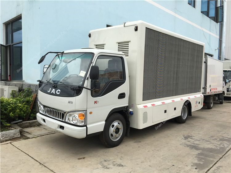 JAC mobile led display truck