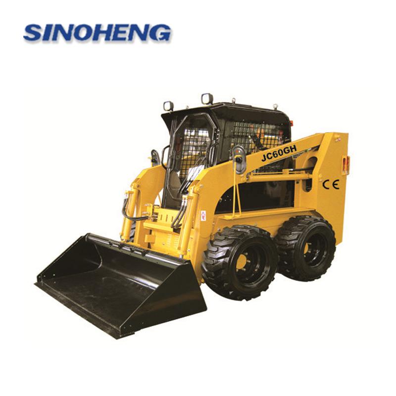 850kg JC60GH skid steer loader with CE