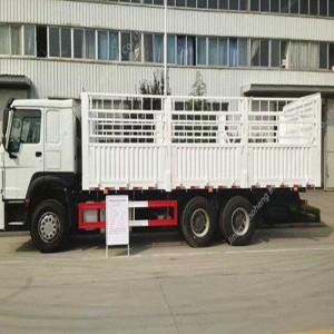 ナイジェリア-2単位HOWO ZZ1257N4341カーゴトラック