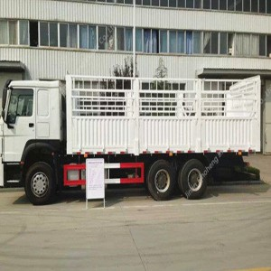 Nigeria-2 unités HOWO ZZ1257N4341 Cargo Truck