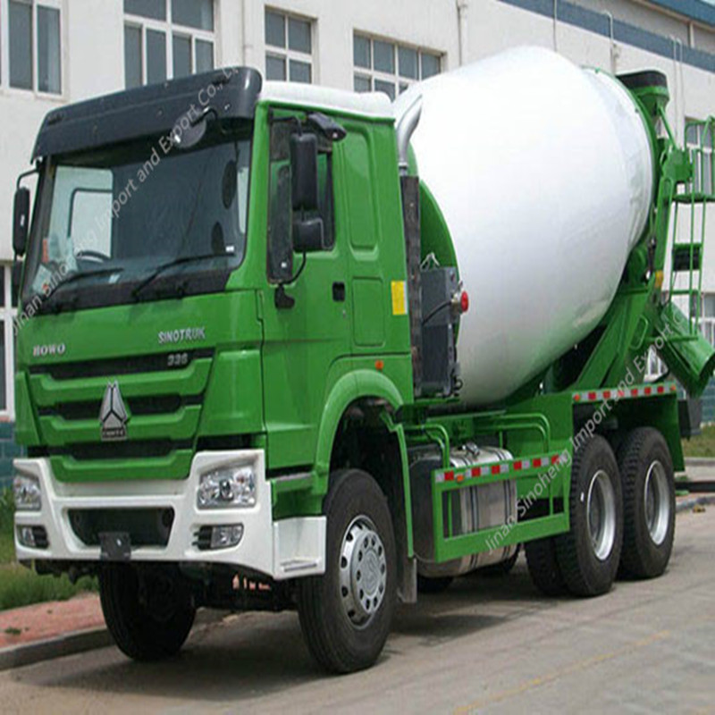 Philippines-1 Units HOWO ZZ1257N3641 Mixer Truck