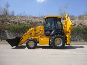 SINOHENG SH388 tractor wheel loader backhoe for tractor