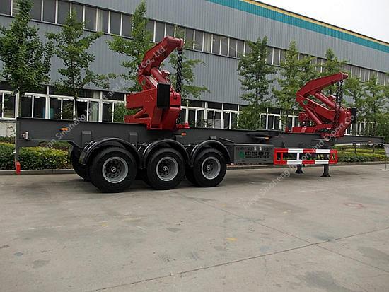 Side Lifter Crane Semi-trailer