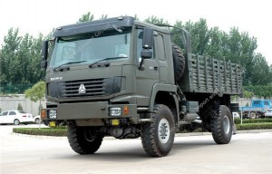 SINOTRUK 4×4 All Wheel Drive 336hp Cargo Truck