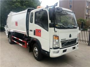SINOTRUK Compressor Garbage Truck