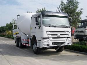 SINOTRUK HOWO 10 m3 Mixer Truck