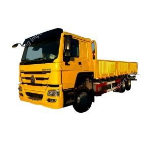 SINOTRUK HOWO 12ホイールカーゴトラック