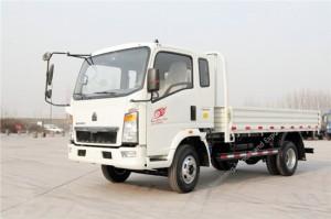 SINOTRUK HOWO 4 Ton Light Cargo Truck