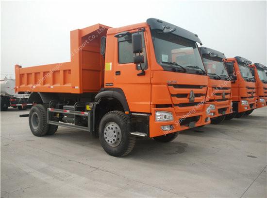 SINOTRUK HOWO 4X2 266hp Dump Truck
