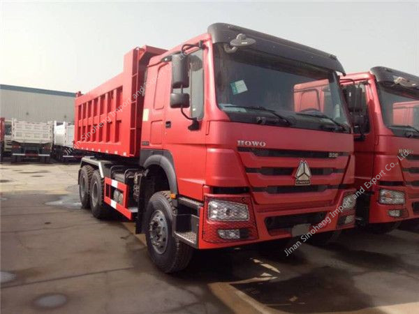 SINOTRUK HOWO 6×4 dump truck (35-40T)
