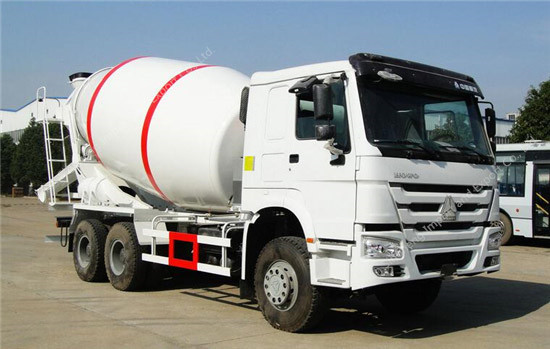 SINOTRUK HOWO 9m3 Cement Mixer Truck