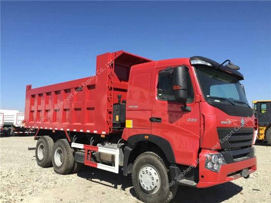 SINOTRUK HOWO A7 25T-30T Tipper Truck