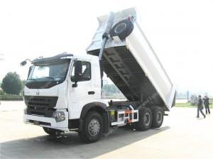 SINOTRUK HOWO A7 6X4 290hp Dump Truck
