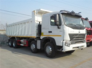 SINOTRUK HOWO A7 8X4 336hp Dump Truck