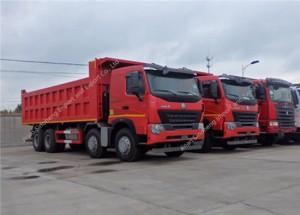 SINOTRUK HOWO A7 8X4 371hp Dump Truck