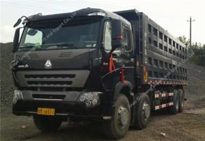 SINOTRUK HOWO A7 8X4 420hp Dump Truck