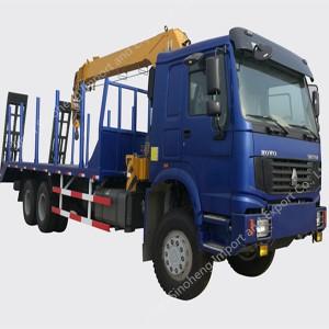SINOTRUK HOWO Truck Mounted Crane