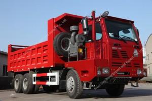 SINOTRUK WERO Mining Truck BASCULE