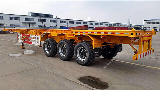 Skeleton Container Semi trailer 40FT
