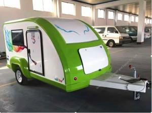 Teardrop caravan trailer
