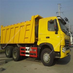 Ouganda-3 unités HOWO ZZ3257N3647 Benne